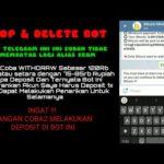 Bot Telegram Bitcoin Mining Online SCAM Tidak Membayar Pick 100%