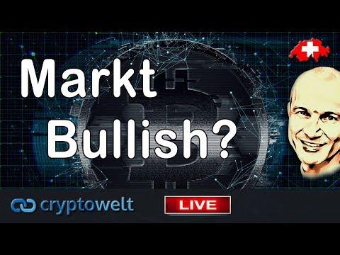 Markt Bullish? / News Bitcoin - Blockchain und Co.