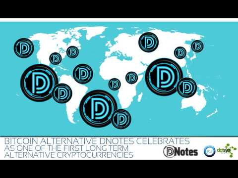 DatSyn News - Bitcoin Alternative DNotes Celebrates