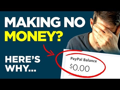 Why Beginners Make NO MONEY Online And FAIL
