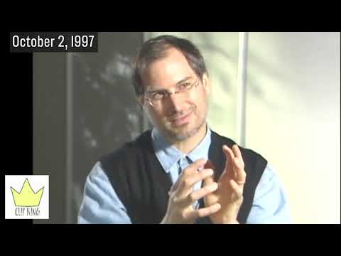 STEVE JOBS TALKS STRATEGY & HIS COMMITMENT TO APPLE (1997)