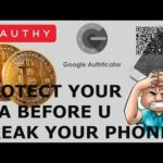 PROTECT YOUR CRYPTO 2FA QR CODES BEFORE YOU BREAK UR PHONE! BITCOIN