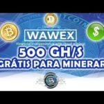 (SCAM) GANHE 500 GH/S PARA MINERAR BITCOIN, DOGE E DÓLAR (USD) – WAWEX – GANHE NO MODO FREE