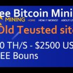 New Free Bitcoin Cloud Mining Site 100GH/S Free Bouns