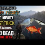 Red Dead Online – Make Money With This Secret Fish Catching Method Super Fast – Glitch or Exploit?