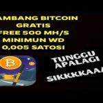 Buruan Sikat, #BTC_Miner/Mining gratis via Aplikasi… #bitcoin #btc #mining