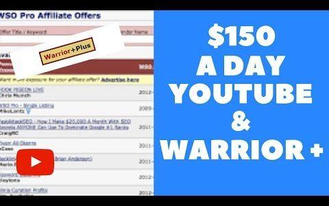 Make Money Online WarriorPlus  $150 a DAY Simple Method