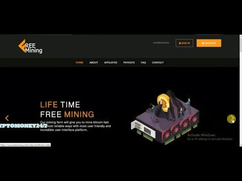 Earn Bitcoin Every Hour For Free | Life time free mining