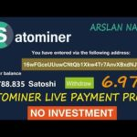 Satominer.io Free Bitcoin Cloud Mining Site Legit Or Scam Live Withdrawal Payment Proof Urdu Hindi