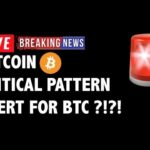 🚨 Critical Pattern Alert for Bitcoin (BTC)?! – Crypto Market Trading Analysis & Cryptocurrency News
