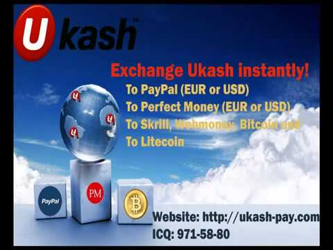 Exchange Ukash to Perfect Money EUR, Ukash to Perfect Money USD. Perfect Money for sale.