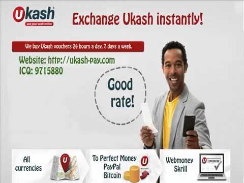 Exchange vouchers Ukash to Perfect Money EUR, Ukash to Perfect Money USD. Sell Perfect Money.