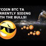 BITCOIN BTC TA CURRENTLY SIDING WITH THE BULLS!