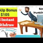 Make Money Online | New Website SignUp Bonus $105 | Don't Miss
