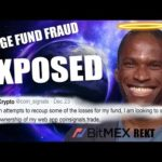 Crypto Twitter Influencer FRAUD EXPOSED! $8 MILLION DOLLAR HEDGE FUND MISSING!