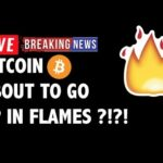 🔥 Is Bitcoin (BTC) About to Go UP IN FLAMES?! -Crypto Market Trading Analysis & Cryptocurrency News