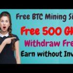 Free new bitcoin mining 2019 Get Free 500 GHS Bonus