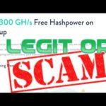 BIXIBI + Scam or legit   Free bitcoin mining 300 GH/S