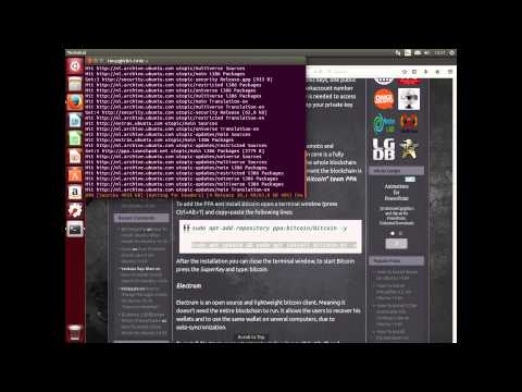 How To Install Bitcoin Core And Multibit Wallet On Ubuntu 14.10