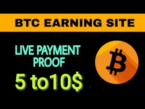 New Free Bitcoin Cloud MINING Site with payment proof daily 10$