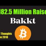 Bakkt Gearing Up – Raises $182.5 Million in Funding [Bitcoin and Cryptocurrency News]