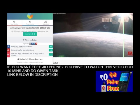 How to make money online and GIVEAWAY PRIZE JIO PHONE जीते फ्री जिओ फ़ोन KARRY FEVER