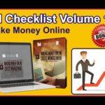 IM Checklist Volume 13  –  Make Money Online in 2019