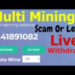 Bitcoin Cloud Mining 2019 Live Withdraw bitcoin-line   multimining Scam or Legit Bitcoin Mining