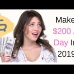 How To Make Money Online 2019! ($200 A Day!)