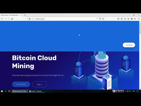 ❌ SCAM Dbmining   New Bitcoin & Dogecoin Cloud Mining 2018 Free 100 Gh s