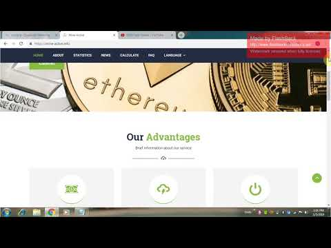 New Free bitcoin mining sites 2019 no investment