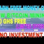 BITCOIN MINING 200 GHS FREE EARN FREE BITCOIN NO INVESTMENT