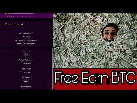Free BTC | Free Earn $500 | Hashmine | Bitcoin Mining |  Free Auto Mining