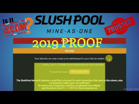 Bitcoin Generator 2019 | SlushPool Official Mining scam not paying