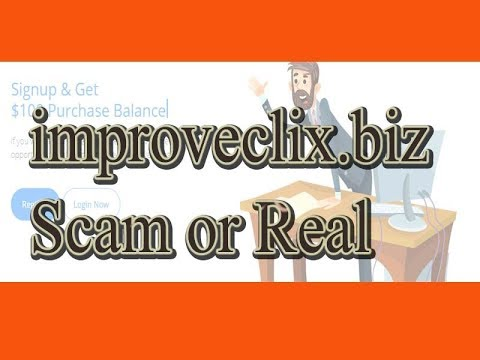 improveclix.biz Scam or Real!! Get free 100$ Purchase Balance- 2019