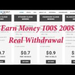 Hashshiny Earn Money 10$ 50$ 100$ Real Withdrawal Scam or Legit