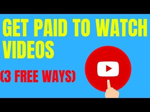Make Money Watching Videos Online - 3 Free Ways