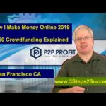 How I Make Money Online 2019 – 50 50 Crowdfunding Explained [San Francisco CA]