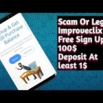Legit Or Scam Improveclix | Unlimited Earning | Free Sign Up Bonus 100$ | 2019 Urdu and Hindi