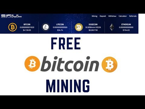 New Free Bitcoin Mining Site 2019 | 10GH/S Free Bonus No Investment