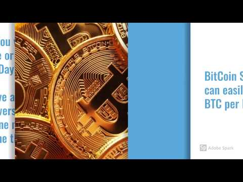 Earn 1 BitCoin BTC per Day No Scam