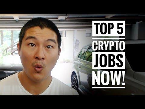 Top 5 Crypto Jobs! - Crypto has Created an Entirely NEW Job Market!