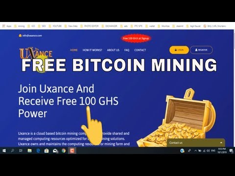 New Free BTC Mining Site | Earn Free Bitcoin | Free mining