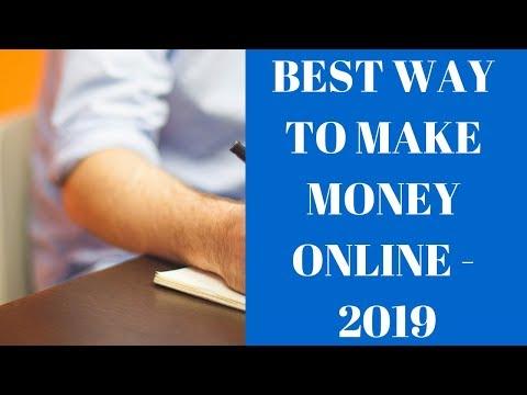 Best Way To Make Money Online 2019 | Affiliate Marketing