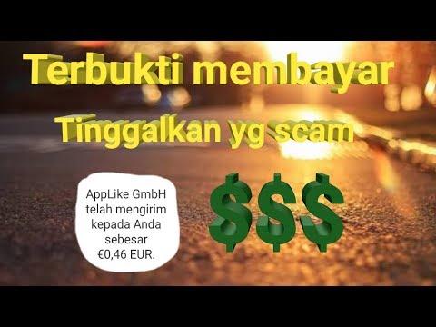 Aplikasi terbukti membayar #tinggalkan yang scam