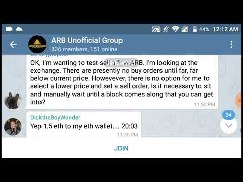 Arbitraging Exit Scam David Peterson Abitraging ARB License FAKE crypto bitcoin cryptonews