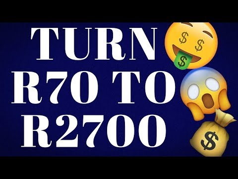 Turn R70 to R2700 With These Websites   Make Money Online In South Africa