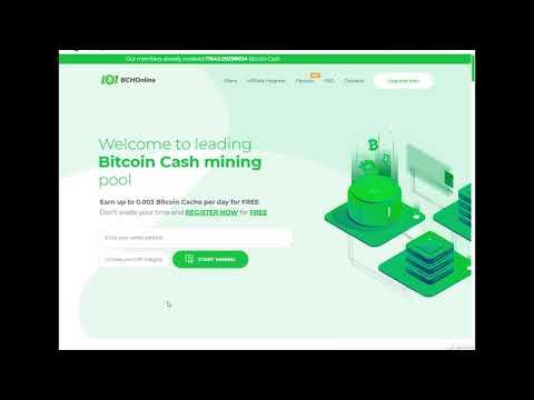 BchOnline Free Bitcoin Mining