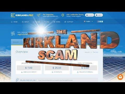 Kirkland and FELT big scam! Do not invest CRYPTO for SCAM Kirkland and Felt