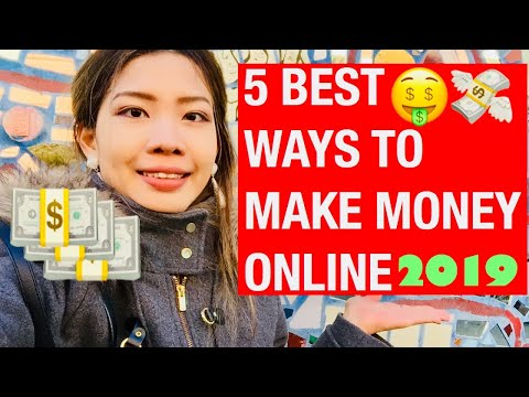 5 Best Ways To Make Money Online In 2019 ZERO Investment Required!